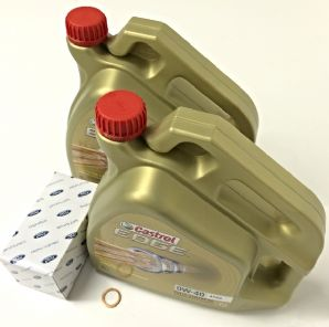Castrol Oil Service Kit - 8 L & Genuine Ford Oil Filter